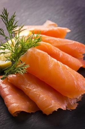 smoked salmon Zdjęcie Seryjne - 20360114