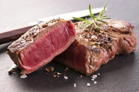 beef: filete de carne de vacuno