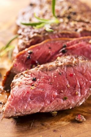 carne asada: filete de carne de vacuno