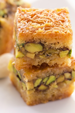 gelb: baklava Stock Photo