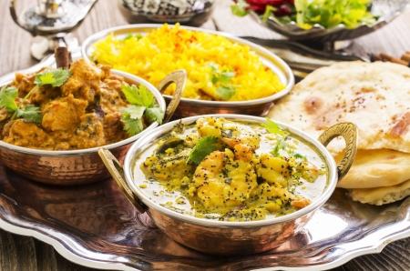tandoori chicken: indian curry