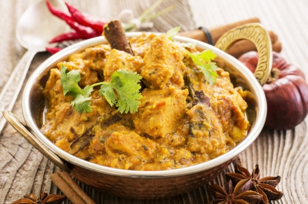 masala: chicken curry
