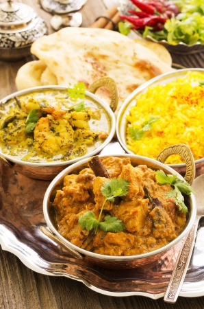 indian dishes Stock Photo