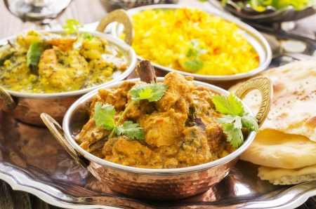 meat dish: Indian curry