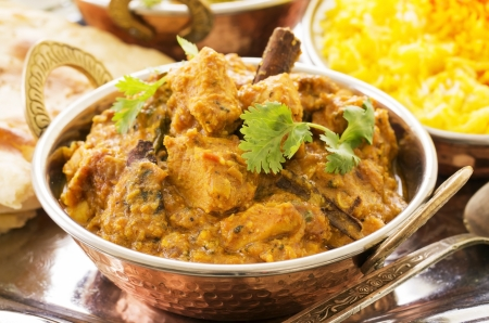 exotically: chicken curry