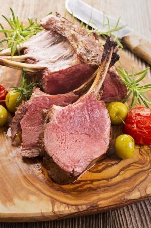 hertenvlees carree