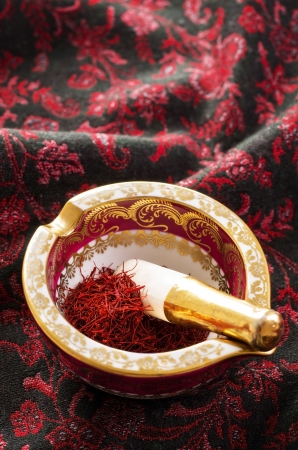 gelb: saffron Stock Photo