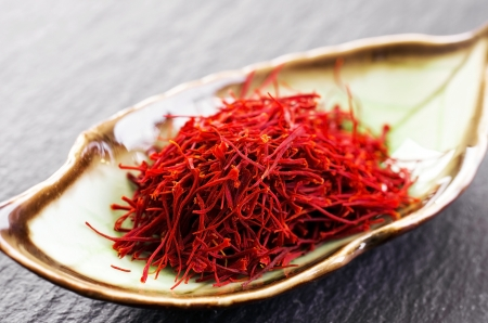 aphrodisiac: saffron Stock Photo