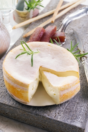 ewes: soft french cheese Stock Photo