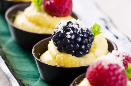 sweetmeats: chocolate tartlets