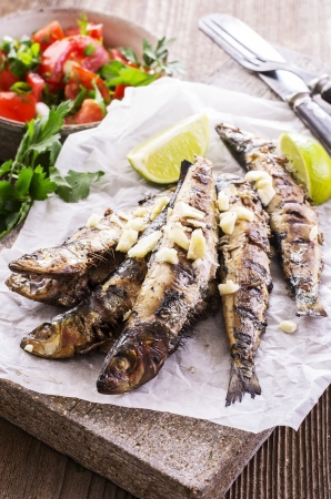 pescado a la parrilla portugu�s photo