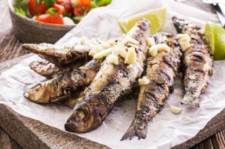 sardine: sardine alla griglia