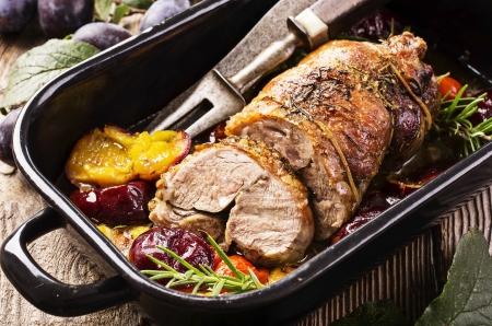 red braised: lamb roast