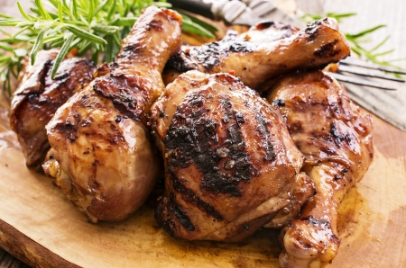 chicken grill: grilled chicken