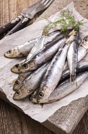marinated: sardine marinated  Stock Photo
