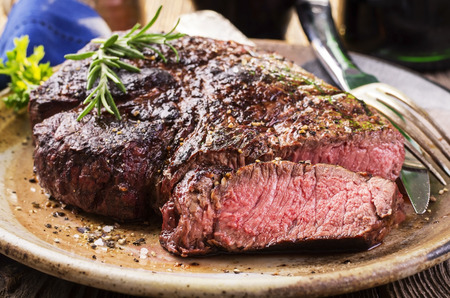 Steak Standard-Bild - 25987057