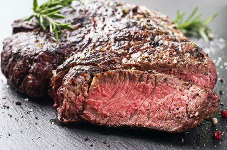 grilled steak: steak