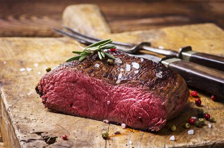 filete de carne de venado Foto de archivo