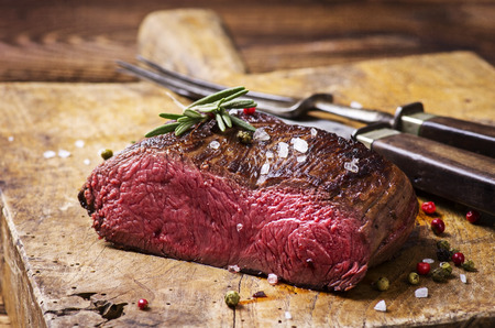 steaks: venison steak