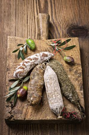 salami sausage: salami