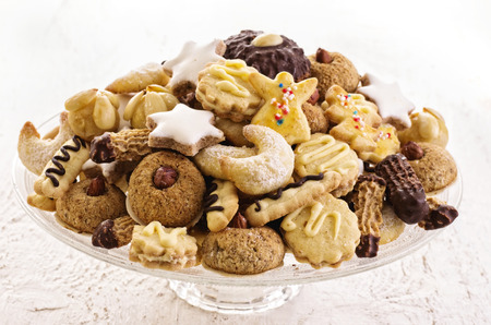 comfit: christmas cookies Stock Photo