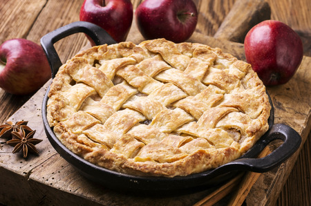 apple pie: Tarte aux pommes