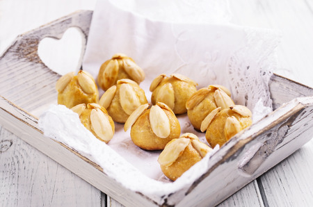 bethm�nnchen - german marzipan pastry photo