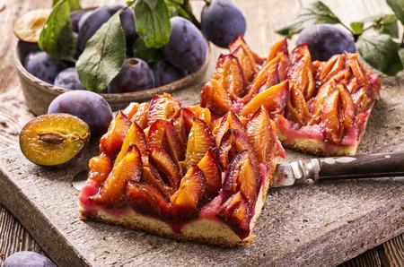 plum pastry Stock fotó