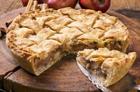aux: tarte aux pommes