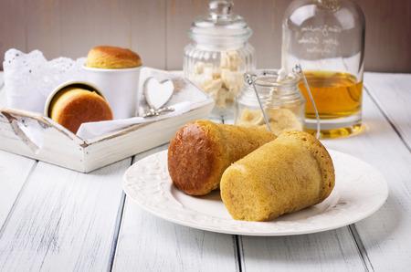 rhum: dessert baba au rhum