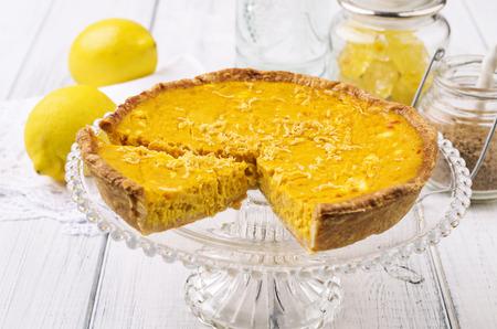 pie de limon: tarta de limón