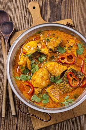Curry de pescado Foto de archivo - 26613999
