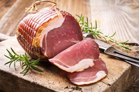 air dried salami: ham