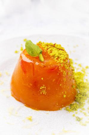 gelatina: gelatina de naranja