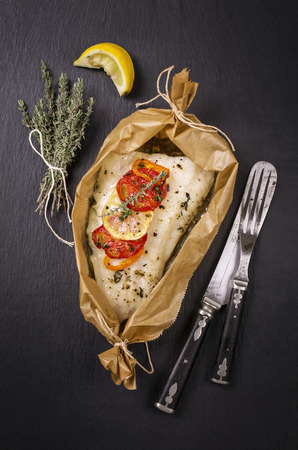 fish baked photo