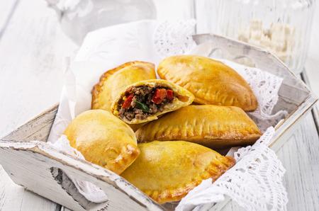 baked pastry empanadas