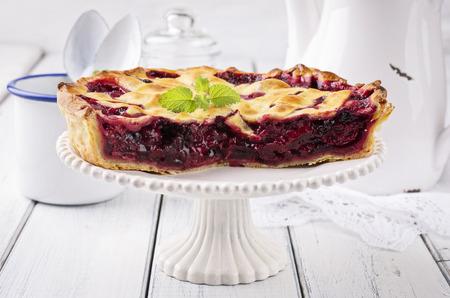 sour cherry: cherry pie