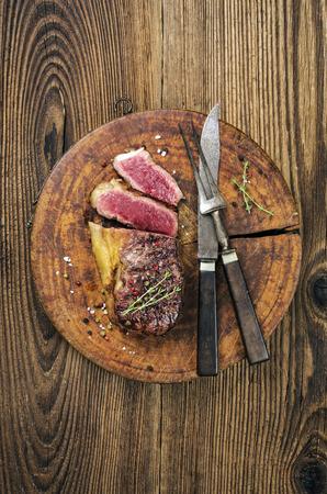 grilled steak photo
