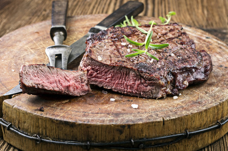 Grilled steak Reklamní fotografie