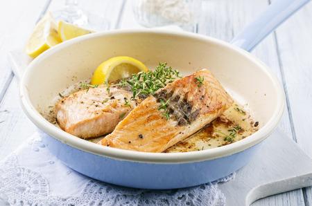 nostalgy: roasted salmon