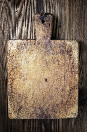 effloresce: old french cutting board