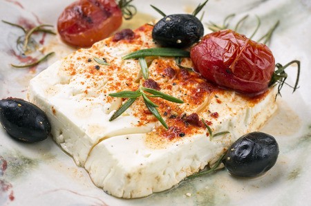 diat product: baked feta cheese