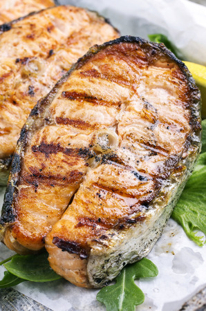 omega 3: grilled salmon