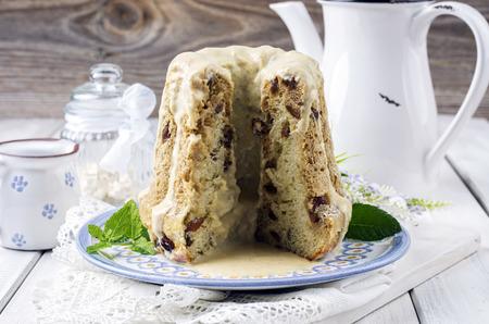 rhum: bundt cake with raisins