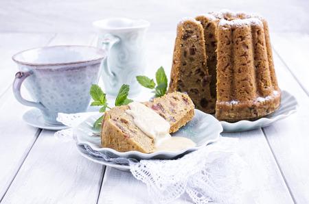 bundt cake Stock Photo