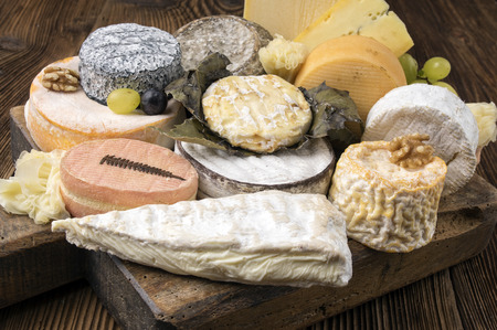 cheese plate: french cheese plate