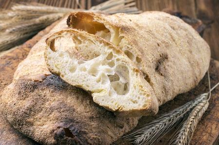 artisanale: artisan bread Stockfoto