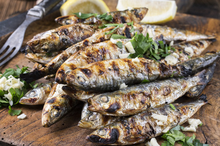 delikatesse: Grilled Anchovies
