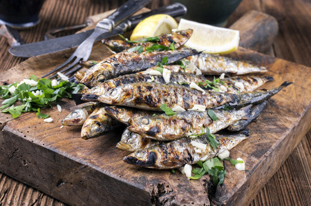 law of portugal: Grilled Anchovies