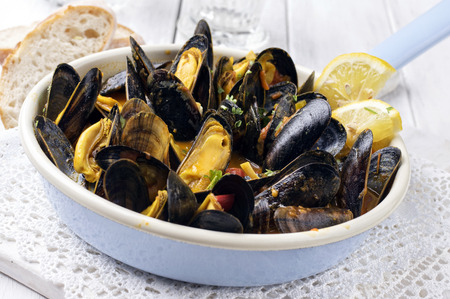 scallop: Sailors Mussels